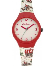 Cath Kidston CKL023CL Ladies Cowboy White with Printed Cowboy Watch