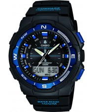 Casio SGW-500H-2BVER Mens Collection Compass Black Combi Watch
