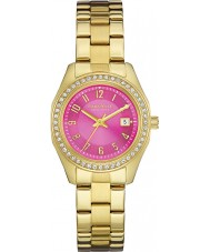 Caravelle New York 44M107 Ladies Perfectly Petite Pink Gold Watch
