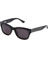 Zadig and Voltaire Ladies SZV051V-700 Shiny Black Sunglasses