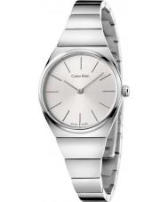 Calvin Klein K6C23146 Ladies Supreme Silver Steel Watch