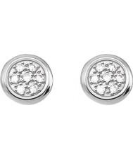 Thomas Sabo D-H0001-725-14 Ladies Glam and Soul 925 Sterling Silver Diamond Stud Earrings