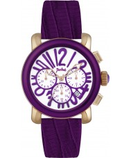 Pocket PK2060 Ladies Rond Chrono Medio Purple Watch