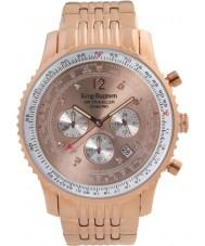 Krug Baümen 600603DS Mens Air Traveller Diamond Watch