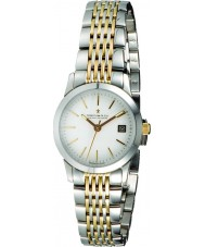 Dreyfuss and Co DLB00005-02 Ladies 1890 Two Tone Watch