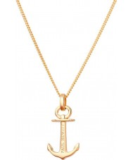 Paul Hewitt PH-AN-G Ladies Anchor Spirit Necklace