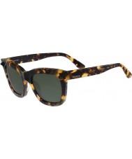 Valentino Ladies V723S Vintage Havana Sunglasses