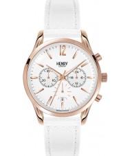 Henry London HL39-CS-0126 Ladies Pimlico White Chronograph Watch