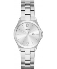 DKNY NY2365 Ladies Parsons Silver Steel Watch