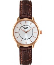 Rotary LS02919-03 Ladies Timepieces Elise Brown Leather Strap Watch