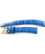Krug Baümen 15058BLUEG Mens Enterprise Blue Leather Replacement Strap