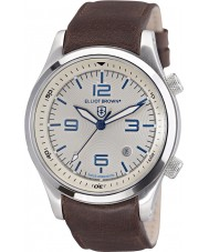 Elliot Brown 202-001-L09 Mens Canford Brown Leather Strap Watch