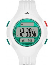 Adidas Performance ADP3230 Questra White PU Leather Strap Watch