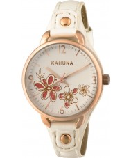 Kahuna KLS-0312L Ladies White PU Strap Watch