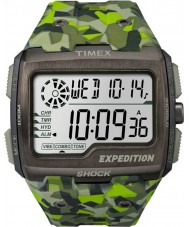 Timex TW4B07200 Mens Grid Shock Green Resin Strap Watch