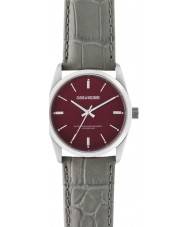 Zadig and Voltaire ZVF235 Fusion Grey Crock Leather Strap Watch