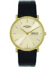 Rotary GS02624-03-DD Mens Gold Plated Champagne Watch