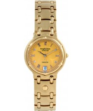 Krug Baümen 5120DM Charleston 4 Diamond Yellow Dial Gold Strap