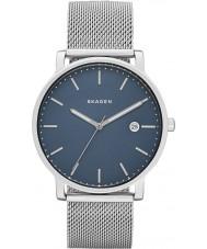 Skagen SKW6327 Mens Hagen Silver Steel Mesh Bracelet Watch