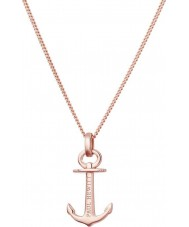 Paul Hewitt PH-AN-RG Ladies Anchor Spirit Necklace