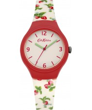 Cath Kidston CKL023RW Ladies Strawberries White with Printed Strawberries Watch