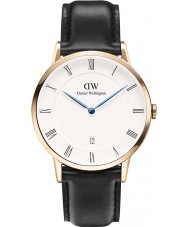 Daniel Wellington DW00100084 Mens Dapper 38mm Sheffield Rose Gold Watch