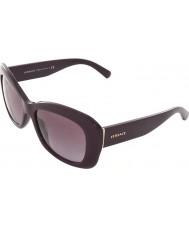 Versace VE4287 56 Pop Chic Eggplant Violet 50668H Sunglasses