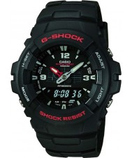 Casio G-100-1BVMUR Mens G-Shock Combination Display Watch