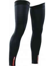 2XU UA1953B-BLK-L Recovery Black Compression Leg Sleeves - Size L
