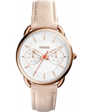 Fossil ES4007 Ladies Tailor Light Brown Leather Strap  Watch