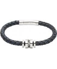 Unique B250BLUE-21CM Mens Bracelet