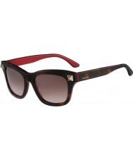 Valentino Mens V656S Havana Rouge Sunglasses