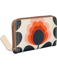 Orla Kiely 17SESFS122-8100-00 Ladies Summer Flower Stem Zip Purse