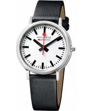Mondaine A512-30358-16SBB Stop2go Black Leather Strap Watch