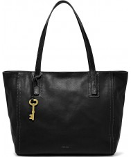 Fossil ZB6844001 Ladies Emma Black Tote Bag