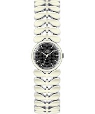 Orla Kiely OK4028 Ladies Laurel White Steel Bracelet Watch