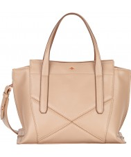 Nica NH6130-BEIGE Ladies Nabi Mink Zip Medium Grab Bag