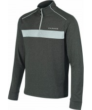 Dare2b Mens Sanction Grey Marl Core Stretch Midlayer