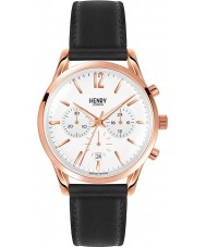 Henry London HL39-CS-0036 Richmond White Black Chronograph Watch
