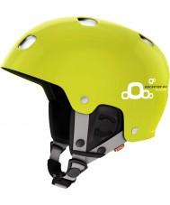 POC PO-73852 Receptor BUG Adjustable 2.0 Hexane Yellow Ski Helmet - 51-54cm
