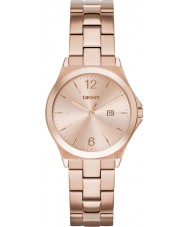 DKNY NY2367 Ladies Parsons Rose Gold Plated Watch