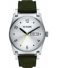Nixon A955-2232 Ladies Jane Silver Surplus Leather Watch