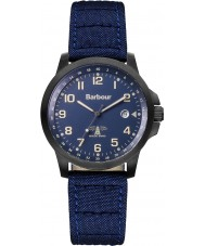 Barbour BB020BKNV Mens Swale Blue Canvas Strap Watch