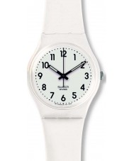Swatch GW151O Just White Soft Watch