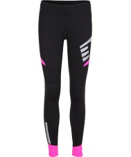 Newline 13117-066-S Ladies Visio Black Pink Tights - Size S