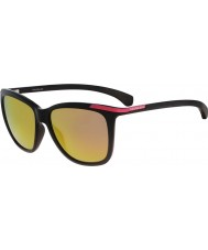 Calvin Klein Jeans Ladies CKJ768S Black Sunglasses