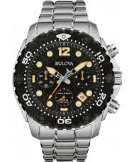 Bulova 98B244 Mens Sea King UHF Steel Chronograph Watch