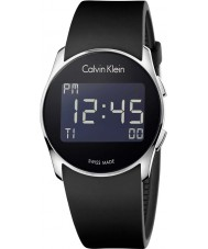 Calvin Klein K5B23TD1 Future Silicone Digital Black Watch