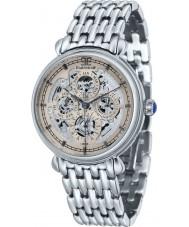 Thomas Earnshaw ES-8043-33 Mens Grand Calendar Silver Steel Bracelet Watch