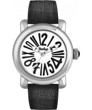 Pocket PK3001 Mens Rond Classique Grande Silver Black Watch